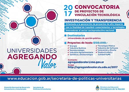 Convocatoria Agregando Valor 2017